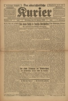 Der Oberschlesische Kurier, 1923, Jg. 17, Nr. 11