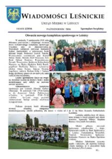 Wiadomości Leśnickie 2016, nr 2.