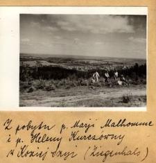 Z pobytu p. Marji Malhomme i p. Heleny Kurczówny w Koziej Szyi (Ziegenhals)
