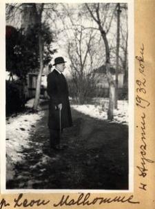 P. Leon Malhomme w styczniu 1932 roku