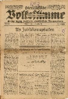 Oberschlesische Volksstimme, 1926, Jg. 52, Nr. 314. - Jubiläums-Ausgabe