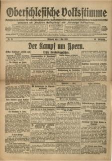 Oberschlesische Volksstimme, 1918, Jg. 44, Nr. 99