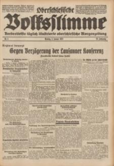 Oberschlesische Volksstimme, 1932, Jg. 58, Nr. 4