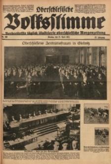 Oberschlesische Volksstimme, 1931, Jg. 57, Nr. 108