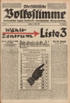 Oberschlesische Volksstimme, 1932, Jg. 58, Nr. 113