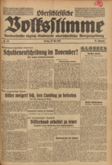 Oberschlesische Volksstimme, 1932, Jg. 58, Nr. 138
