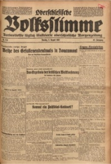 Oberschlesische Volksstimme, 1932, Jg. 58, Nr. 218