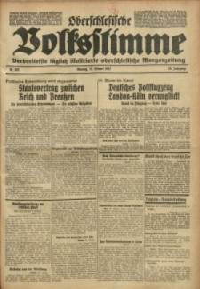 Oberschlesische Volksstimme, 1932, Jg. 58, Nr. 302