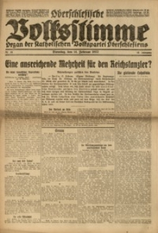 Oberschlesische Volksstimme, 1922, Jg. 48, Nr. 44