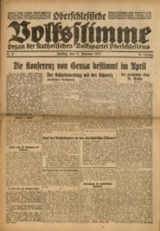Oberschlesische Volksstimme, 1922, Jg. 48, Nr. 47