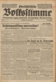 Oberschlesische Volksstimme, 1933, Jg. 59, Nr. 3