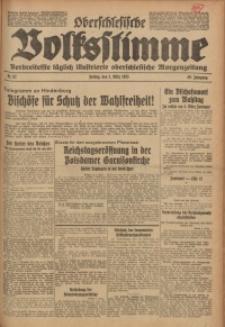 Oberschlesische Volksstimme, 1933, Jg. 59, Nr. 62