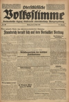 Oberschlesische Volksstimme, 1933, Jg. 59, Nr. 109