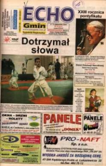 Echo Gmin : tygodnik regionalny 2001, nr 40 (213).