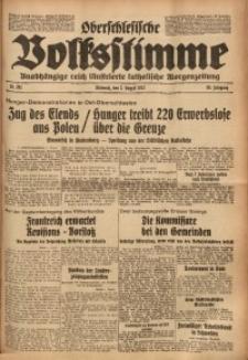 Oberschlesische Volksstimme, 1933, Jg. 59, Nr. 201