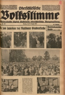 Oberschlesische Volksstimme, 1932, Jg. 58, Nr. 239