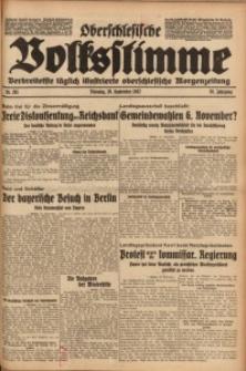 Oberschlesische Volksstimme, 1932, Jg. 58, Nr. 261