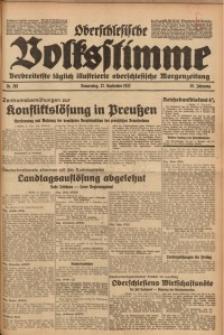 Oberschlesische Volksstimme, 1932, Jg. 58, Nr. 263