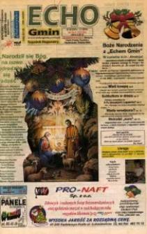 Echo Gmin : tygodnik regionalny 2001, nr 50-51 (223-224).