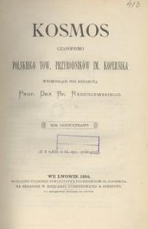 Kosmos, 1894, R. 19