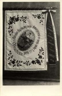 Sztandar młodzieży w Olbrachcicach