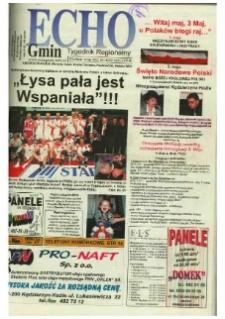 Echo Gmin : tygodnik regionalny 2002, nr 18 (242).