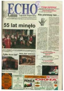Echo Gmin : tygodnik regionalny 2002, nr 25 (249).