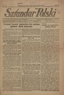 Sztandar Polski, 1920, R. 2, Nr. 74