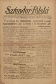 Sztandar Polski, 1921, R. 3, Nr. 6