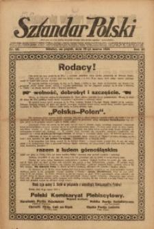 Sztandar Polski, 1921, R. 3, Nr. 62