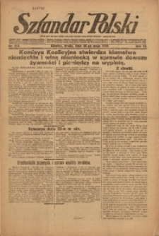 Sztandar Polski, 1921, R. 3, Nr. 117