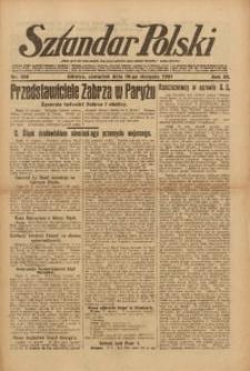 Sztandar Polski, 1921, R. 3, Nr. 188