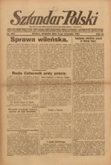 Sztandar Polski, 1921, R. 3, Nr. 209