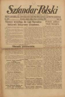 Sztandar Polski, 1921, R. 3, Nr. 213