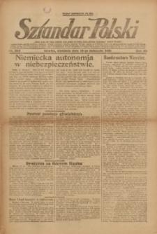 Sztandar Polski, 1921, R. 3, Nr. 262