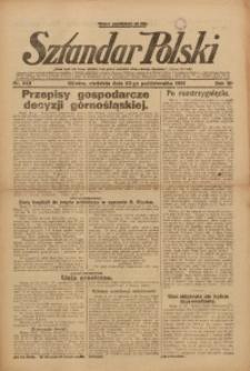 Sztandar Polski, 1921, R. 3, Nr. 245