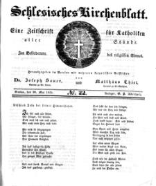 Schlesisches Kirchenblatt, 1835, Jg. 1, nr 22