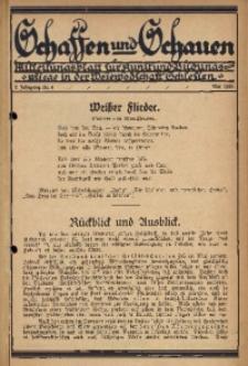 Schaffen und Schauen, 1925, Jg. 2, Nr. 2