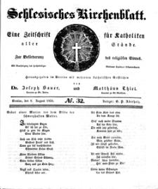 Schlesisches Kirchenblatt, 1835, Jg. 1, nr 32
