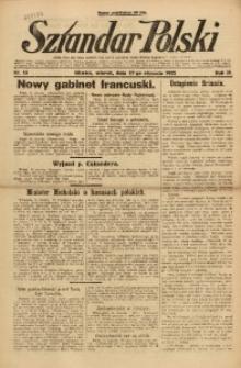 Sztandar Polski, 1922, R. 4, Nr. 13