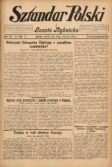 Sztandar Polski i Gazeta Rybnicka, 1925, R. 7, Nr. 187