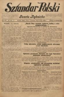 Sztandar Polski i Gazeta Rybnicka, 1926, R. 8, Nr. 18