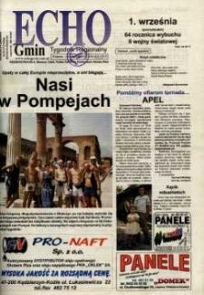 Echo Gmin : tygodnik regionalny 2003, nr 34 (310).