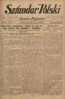 Sztandar Polski i Gazeta Rybnicka, 1926, R. 8, Nr. 37