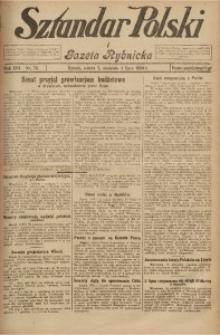 Sztandar Polski i Gazeta Rybnicka, 1926, R. 8, Nr. 76
