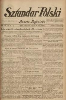 Sztandar Polski i Gazeta Rybnicka, 1926, R. 8, Nr. 85