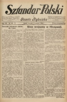 Sztandar Polski i Gazeta Rybnicka, 1926, R. 8, Nr. 105