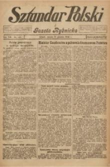 Sztandar Polski i Gazeta Rybnicka, 1926, R. 8, Nr. 144
