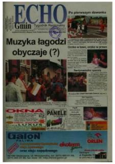 Echo Gmin : tygodnik regionalny 2002, nr 37 (261).