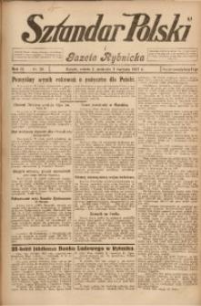 Sztandar Polski i Gazeta Rybnicka, 1927, R. 9, Nr. 38